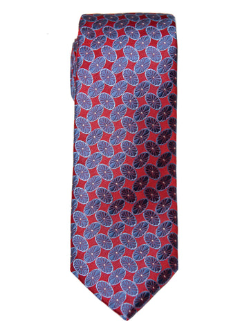 Boy's Tie 27750 Red/Blue Neat Boys Tie Heritage House