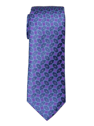 Boy's Tie 27753 Purple/Blue Neat Boys Tie Heritage House