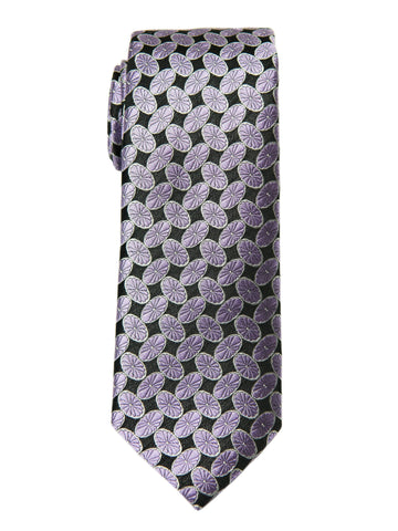 Boy's Tie 27756 Purple/Black Neat Boys Tie Heritage House