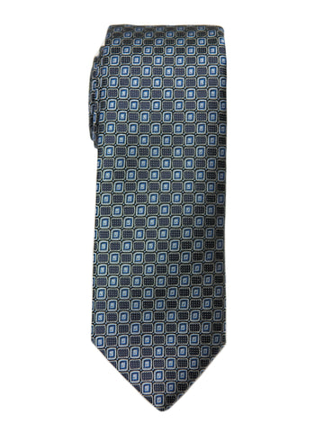 Boy's Tie 27765 Black/Blue Neat Boys Tie Heritage House