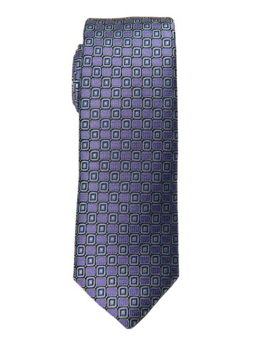 Boy's Tie 27768 Purple Neat