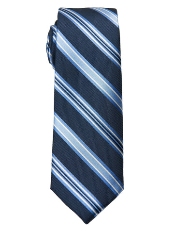 Boy's Tie 27792 Navy/Blue Stripe Boys Tie Heritage House