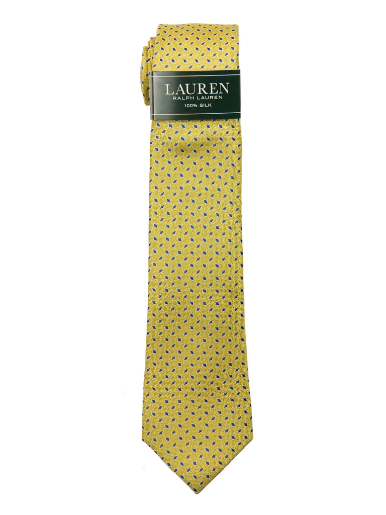 Lauren Ralph Lauren Boy's Tie 27970 Yellow Neat Boys Tie Lauren