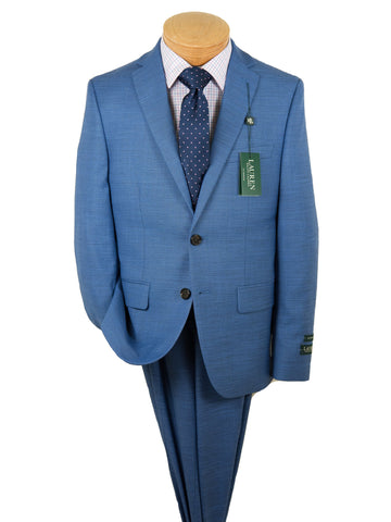 Image of Lauren Ralph Lauren 28084 Boy's Suit Separate Jacket - Sharkskin -Blue Boys Suit Separate Jacket Lauren Ralph Lauren