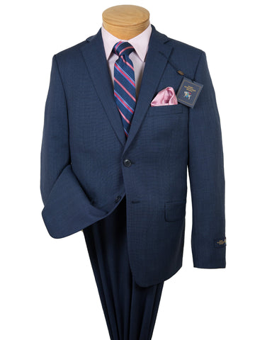 Image of Hart Schaffner Marx 28289 Boy's Suit -Weave - Medium Blue Boys Suit Hart Schaffner Marx