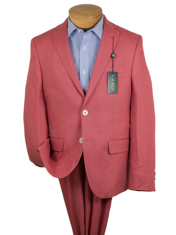 Image of Lauren Ralph Lauren 28312 Boy's Jacket Separate- Linen -Nantucket Red Boys Suit Separate Jacket Lauren