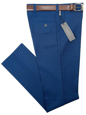 Andrew Marc 28435P Boy's Skinny Fit Pant -Nail Head- Dark Blue Boys Dress Pant Andrew Marc