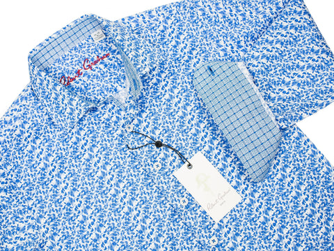 Robert Graham 28508 Boy's Sport Shirt-Paisley-Blue Boys L/S Woven Robert Graham
