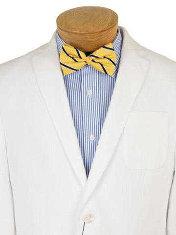 Image of Lauren Ralph Lauren 28547 Boy's Suit Separate Jacket - 100% Linen - White Boys Suit Separate Jacket Lauren