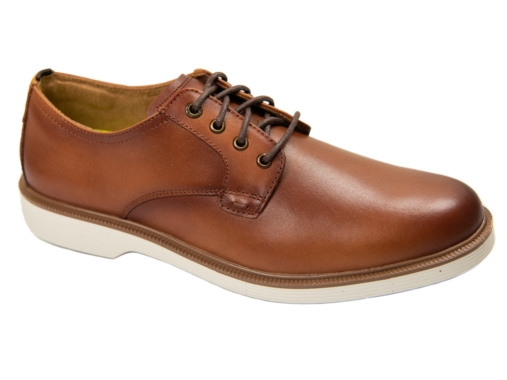 Florsheim 28669-Boy's Shoe-Plain Toe Oxford-Cognac