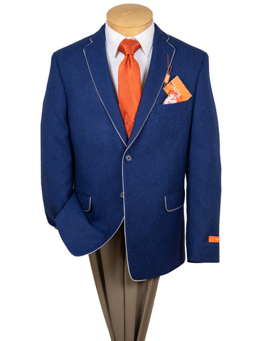 Image of Tallia Boy's Sport Coat 28886 Navy -Mix