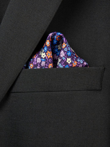 Boy's Pocket Square 29116 Purple