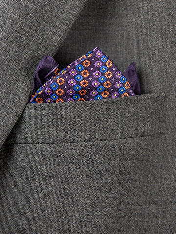 Boy's Pocket Square 29117 Purple