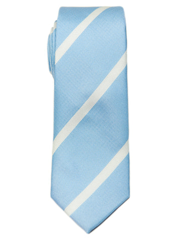 ScottyZ 29140 Boy's Tie-Sky-Stripe-Blue