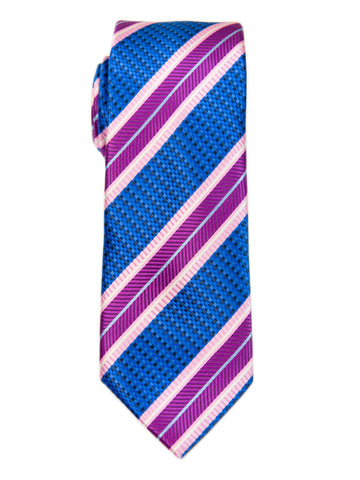 ScottyZ 29141 Boy's Tie-Stripe-Blue/Pink