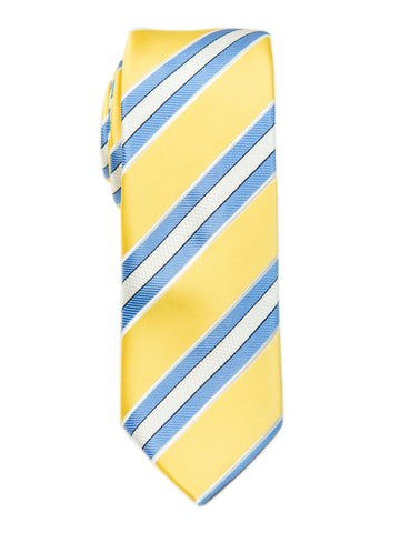 ScottyZ 29142 Boy's Tie-Stripe- Yellow/Blue
