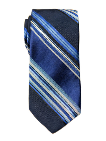 Dion 29198 Boy's Tie- Blue- Stripe