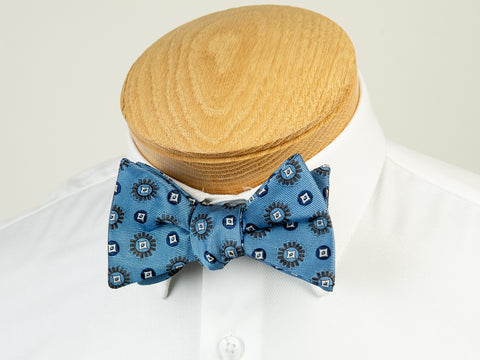 ScottyZ 29228 Boy's Bow Tie- Neat- Blue
