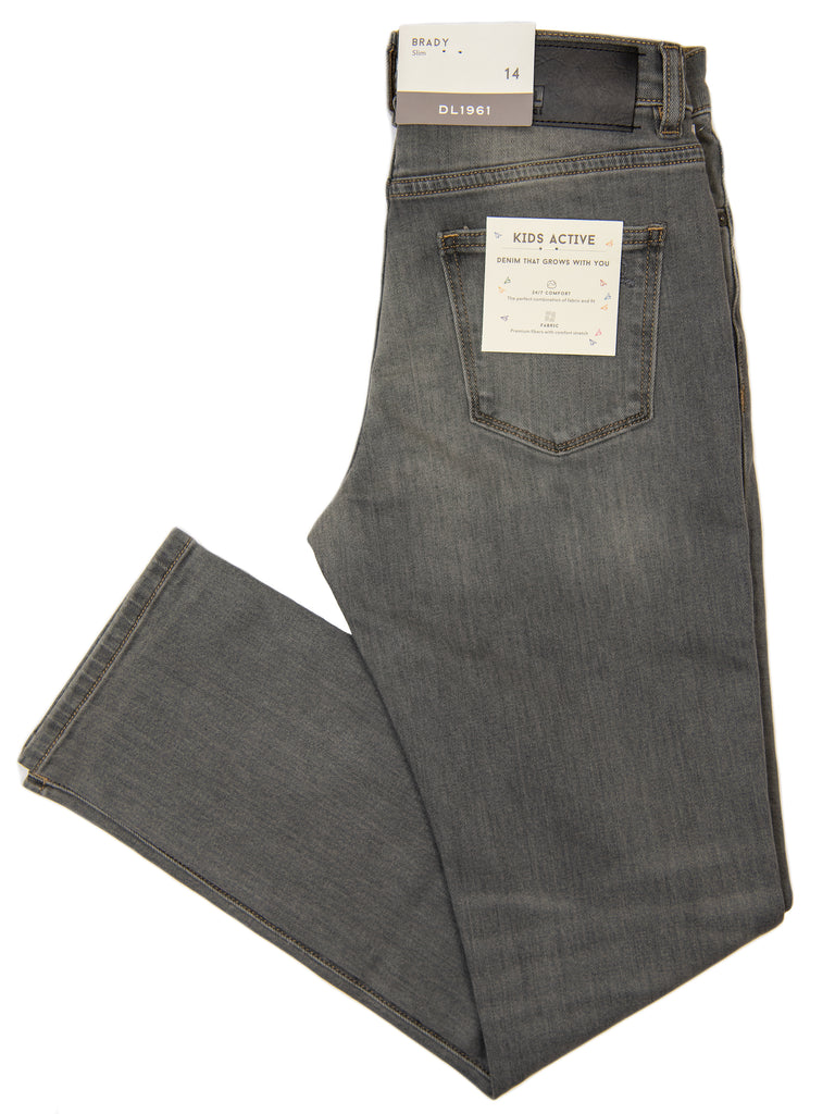 DL1961 29239 Boy's Jeans - Slim Fit - Gray