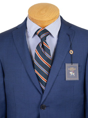 Image of Hart Schaffner Marx 29516 Boy's Suit - Twill - Blue