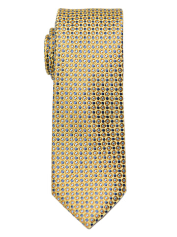 Heritage House 29622 Boy's Tie - Neat - Yellow/Blue