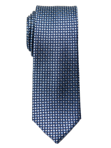 Heritage House 29626 Boy's Tie - Neat - Blue