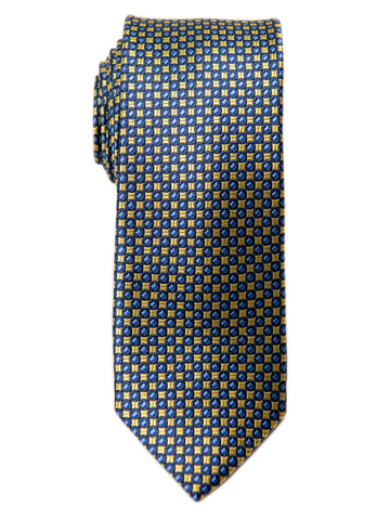 Heritage House 29628 Boy's Tie - Neat - Yellow/Blue