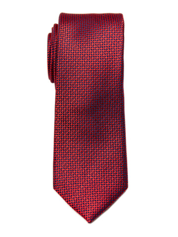 Heritage House 29638 Boy's Tie - Neat - Red