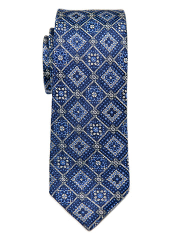 Heritage House 29640 Boy's Tie - Neat - Blue