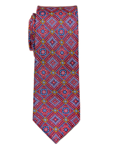 Heritage House 29642 Boy's Tie - Neat - Red Multi