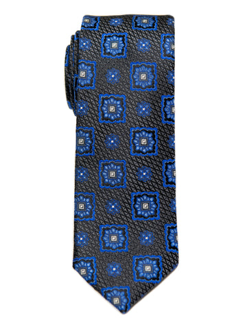 Heritage House 29644 Boy's Tie - Neat - Black/Blue