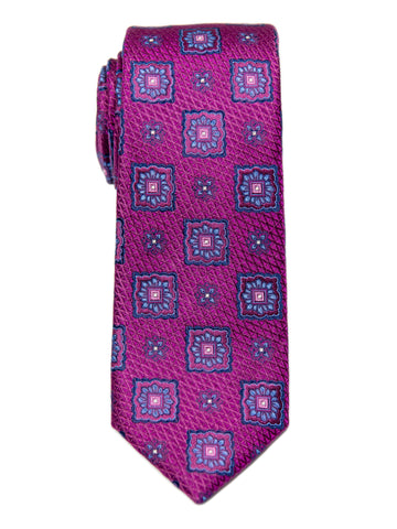 Heritage House 29646 Boy's Tie - Neat - Mulberry/Blue