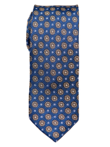 Heritage House 29648 Boy's Tie - Neat - Blue/Yellow