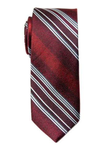 Heritage House 29681 Boy's Tie - Stripe- Red