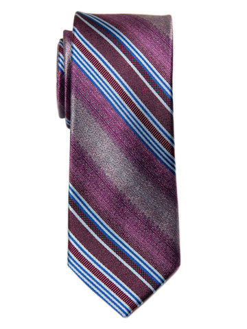 Heritage House 29683 Boy's Tie - Stripe- Blue
