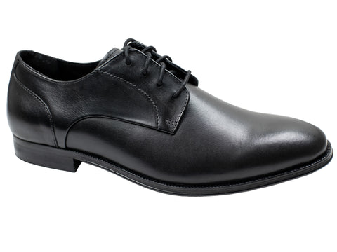 Image of Florsheim 30036 Boy's Dress Shoe - Plain Toe Oxford - Black