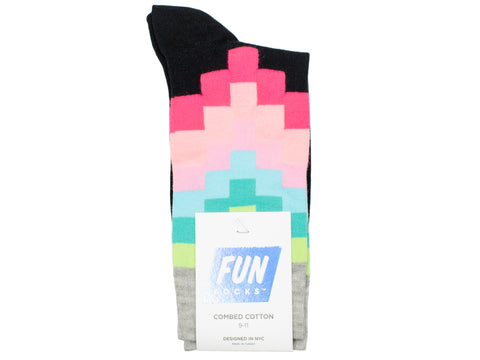 Boy's Fun Socks 30103 - Black/Multi