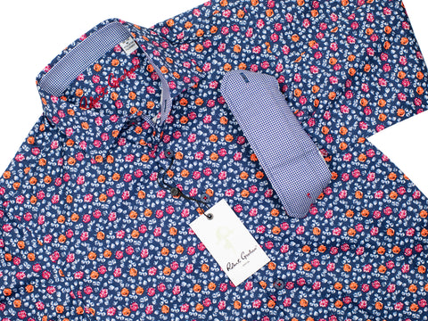 Robert Graham 30340 Boy's Sport Shirt - Floral - Red
