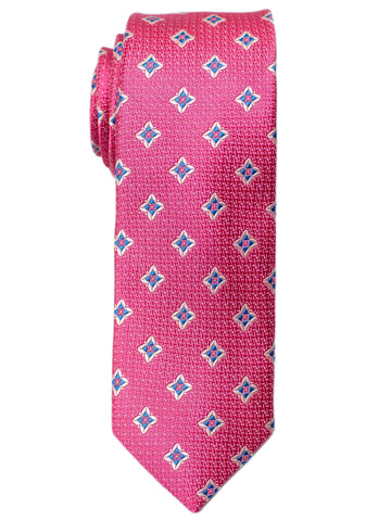Heritage House 30699 Boy's Tie - Neat- Pink/Blue