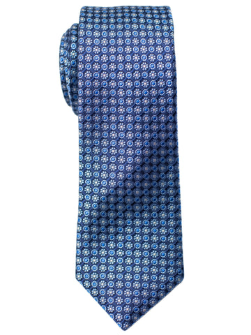 Heritage House 30711 Boy's Tie - Neat- Blue