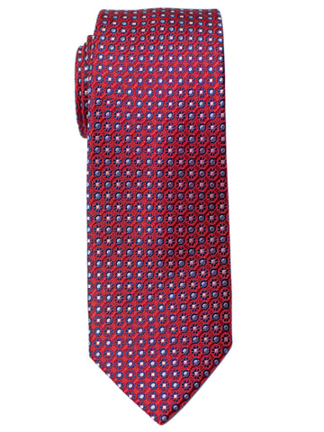 Heritage House 30713 Boy's Tie - Neat- Red/Blue