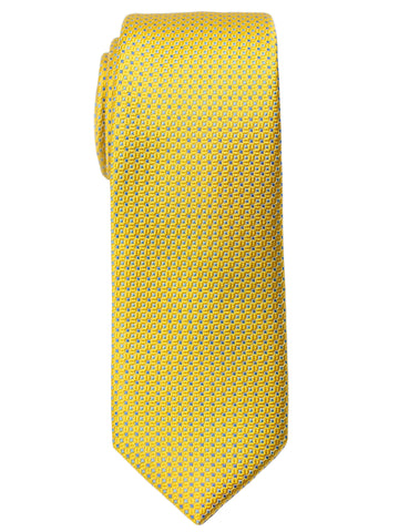 Heritage House 30719 Boy's Tie - Neat - Yellow/Blue