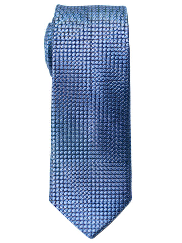 Heritage House 30721 Boy's Tie - Neat - Blue