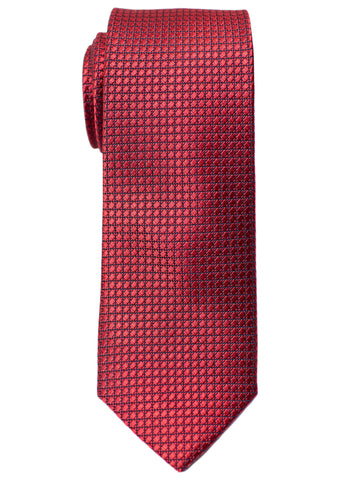 Heritage House 30723 Boy's Tie - Neat - Red