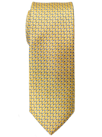 Heritage House 30727 Boy's Tie - Neat - Yellow/Blue