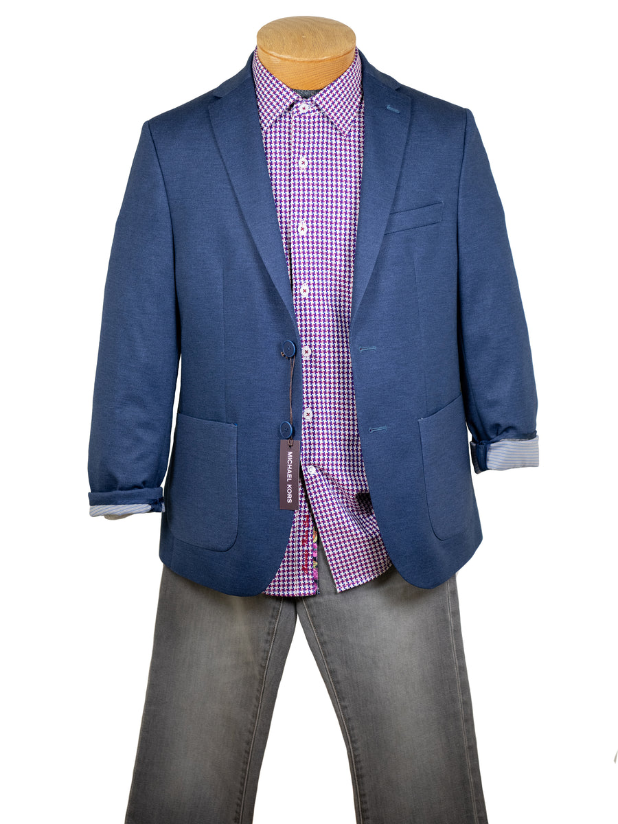 Michael Kors 30803 Boy's Sport Coat - Double Faced - Blue