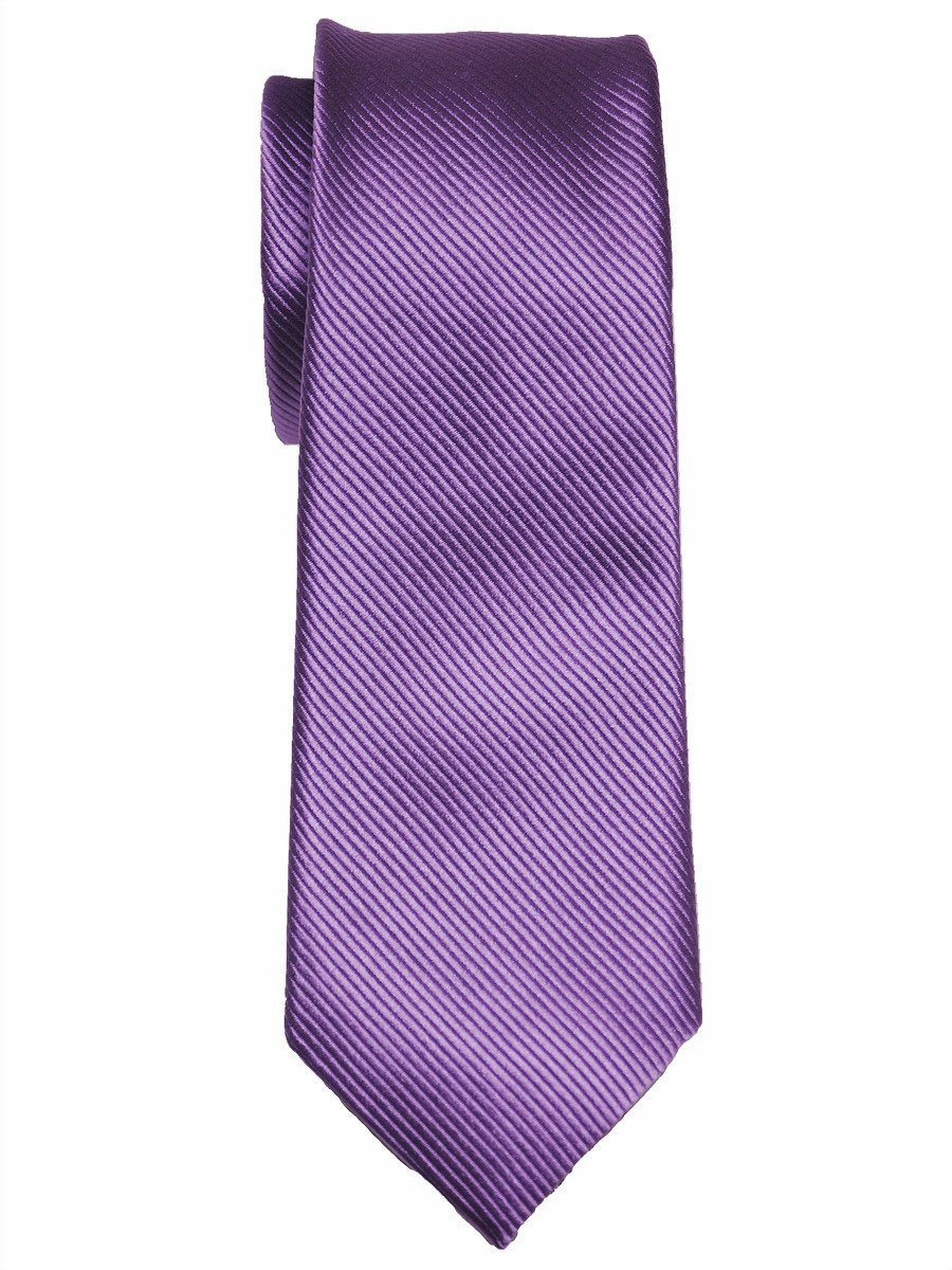 Heritage House 3763 100% Woven Silk Boy's Tie - Neat - Purple(19) Boys Tie Heritage House