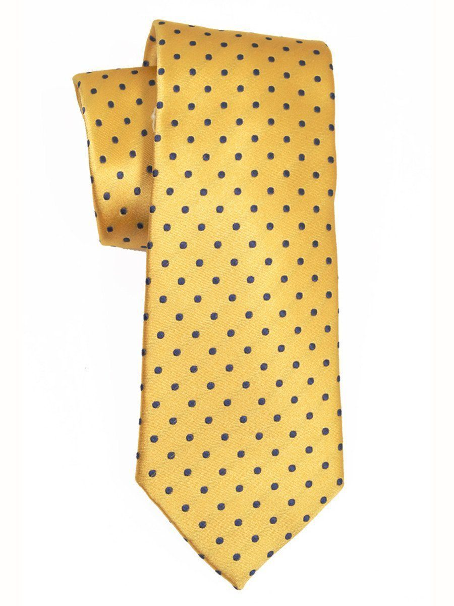Boy's Tie 3799 Yellow/Navy Boys Tie Heritage House