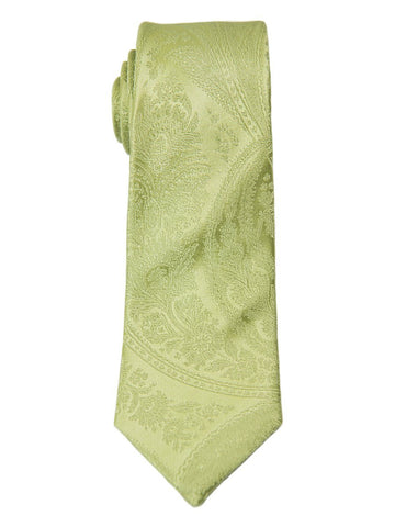 Heritage House 5057 100% Woven Silk Boy's Tie - Paisley - Light Green Boys Tie Heritage House