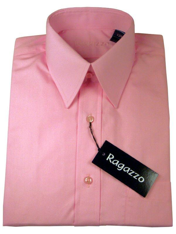 Boy's Dress Shirt 5087 Bubblegum Boys Dress Shirt Ragazzo